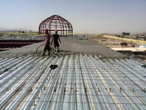 پروژه اجرای سقف عرشه فولادی پارک فناوری پردیس